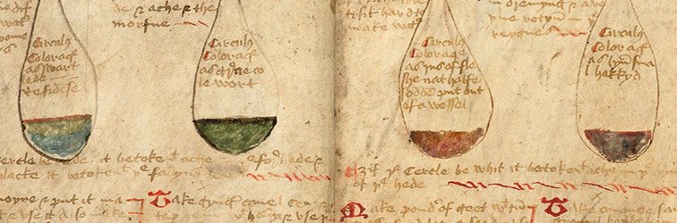 Image of The Twenty Jordans, MS, Ashmole 1413