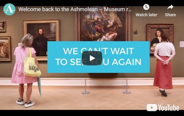 Still from the Ashmolean Reopening video