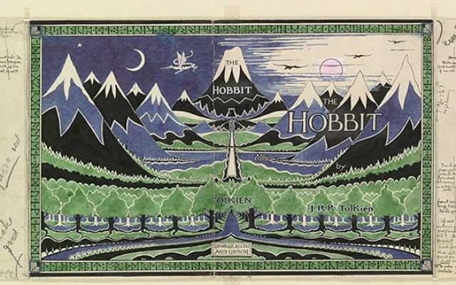 Image of Hobbit dust jacket