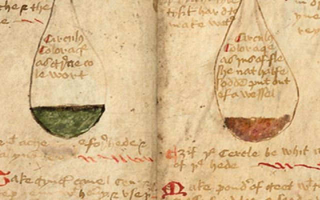 Image of The Twenty Jordans, MS, Ashmole 1413