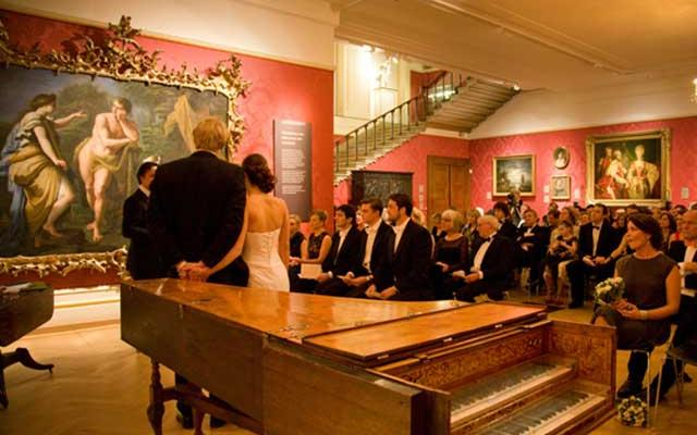 Wedding in the Mallet Gallery, Ashmolean Museum