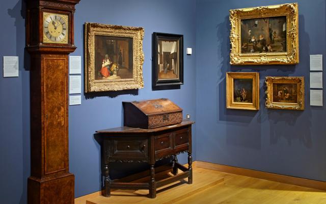 Ashmolean's Gallery 45 displaying Dutch and Flemish art