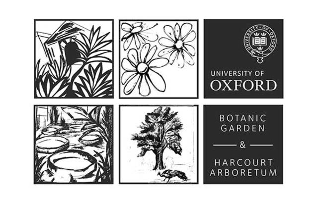 Botanic Garden and Harcourt Arboretum Logo