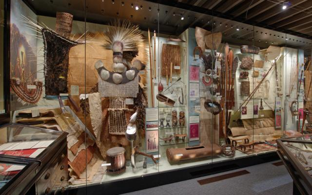 Cook voyage collection, on displat at the Pitt Rivers Museum