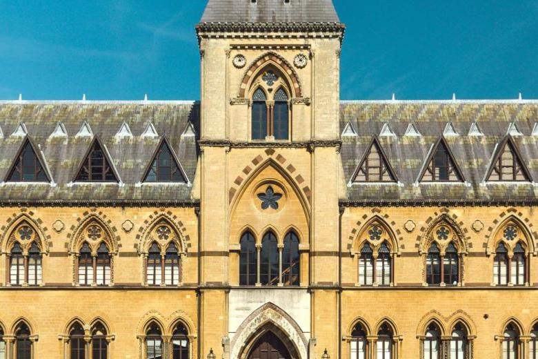 Facade of the Oxford University Museum of Natural History