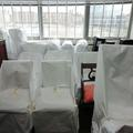 packed chairs and furniture