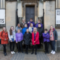 Students from Opie Class outside the History of Science Museum. Image Oxford University Gardens, Libraries & Museums; credit Claire Williams.