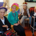 Outreach session with older people