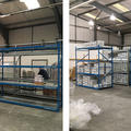 Before and after shots of moving collections in storage