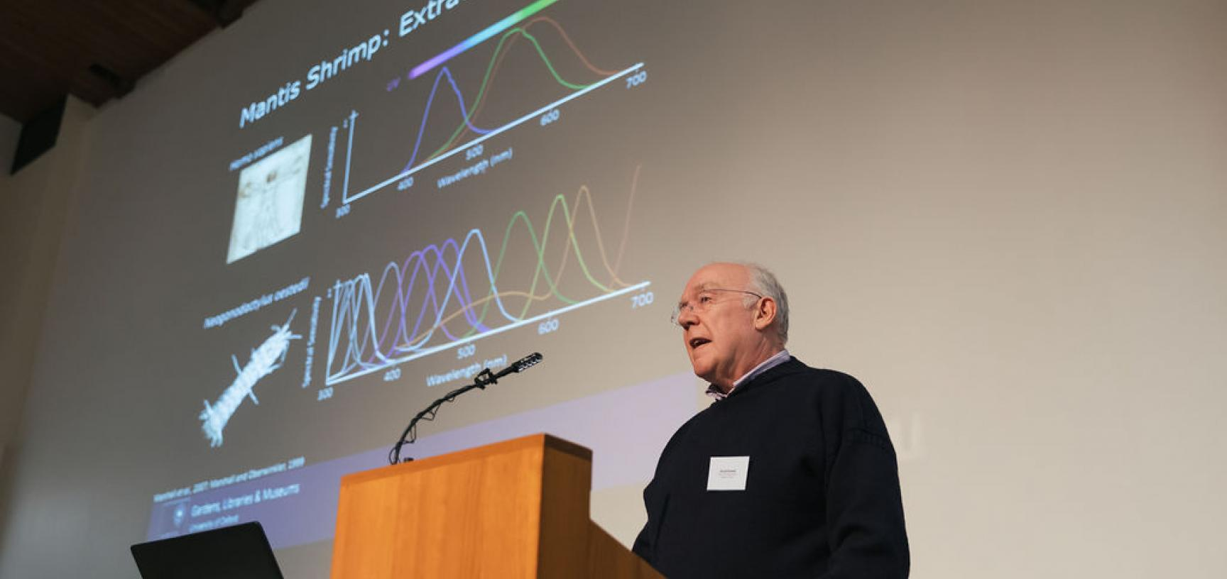 GLAM digital showcase: hyperspectral imaging talk