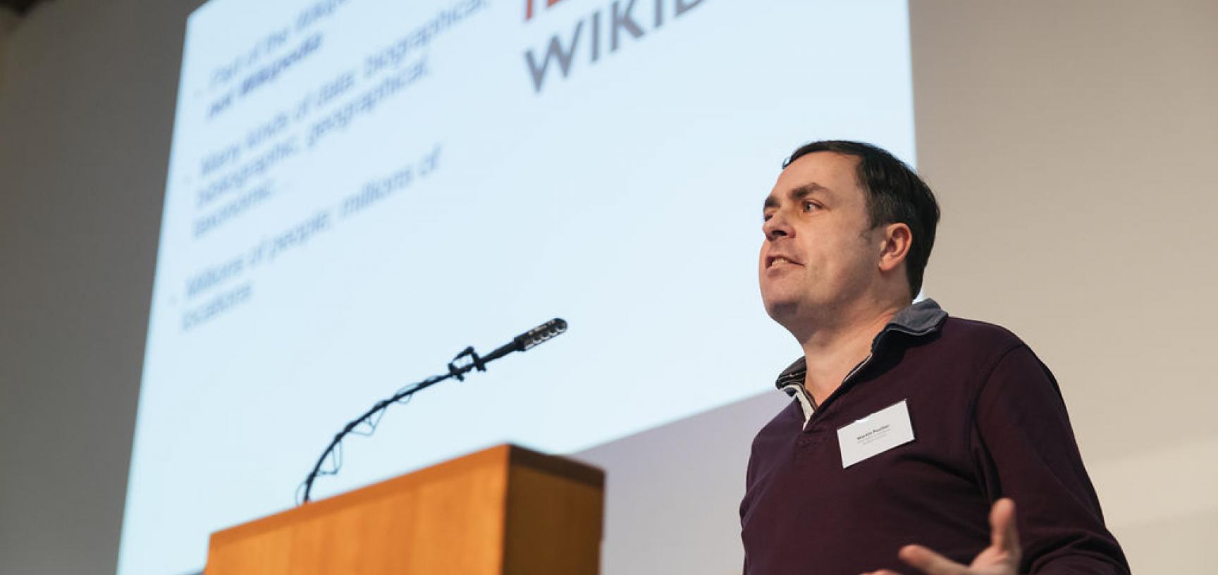 GLAM digital showcase, Wikidata talk