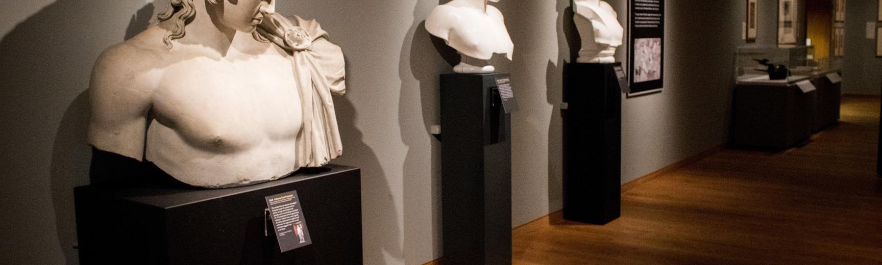 Antinous exhibition at Ashmolean Museum, Gallery 8