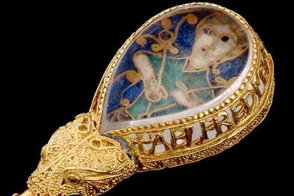 Anglo-Saxon Alfred Jewel