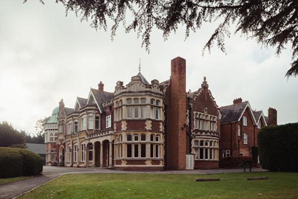 The Mansion - Image by Bureau for Visual Affairs, courtesy of Bletchley Park Trust