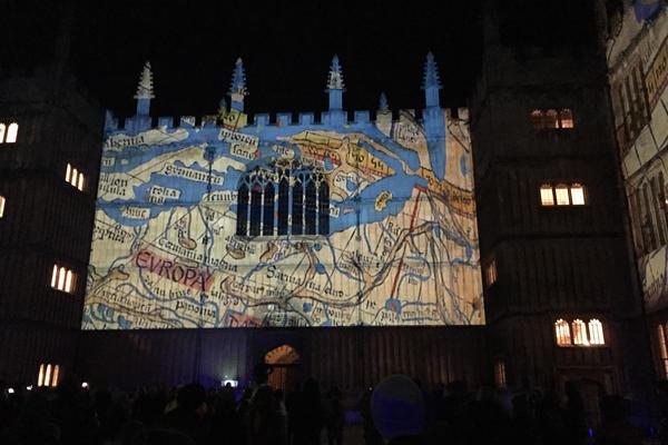 Bodleian lightshow
