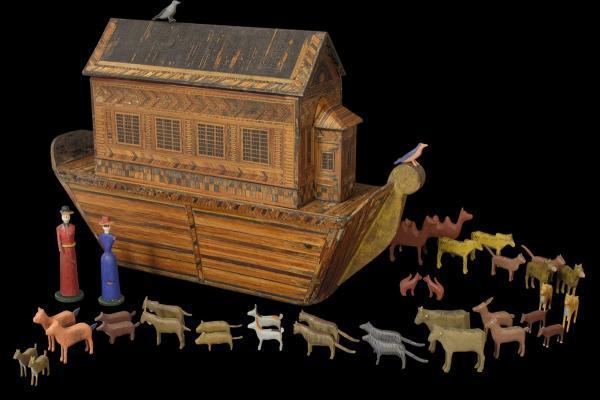 Noah's ark toy, Germany (around 1860)