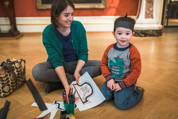 Family craft activities at the Ashmolean