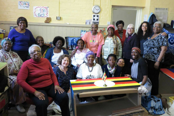 Outreach session with local community group