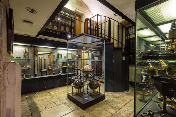History of Science Museum, basement gallery