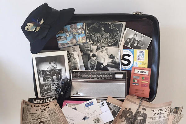 Objects and ephemera featured in Memoirs in My Suitcase