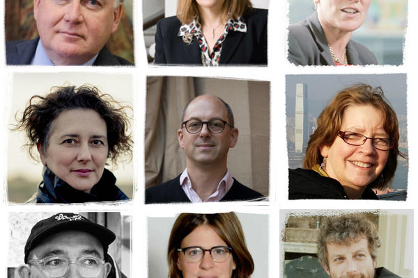 Collage of portraits of Oxford Cultural Leaders faculty