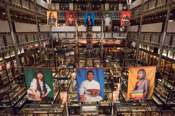 Performing Tibetan Identities exhibition by Nyema Droma (c) Pitt Rivers Museum University of Oxford