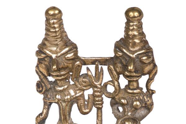 Shiva and Parvati ornament
