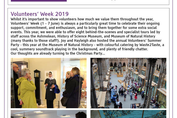 volunteering newsletter cover apr jun