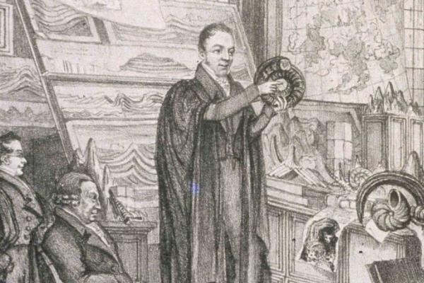 william buckland lecturing 1823 OUMNH