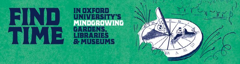 GLAM Mindgrowing banner featuring objects from the Museum of the History of Science