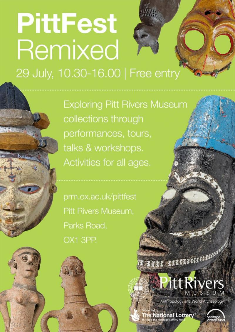 Pitt Fest Remixed Poster