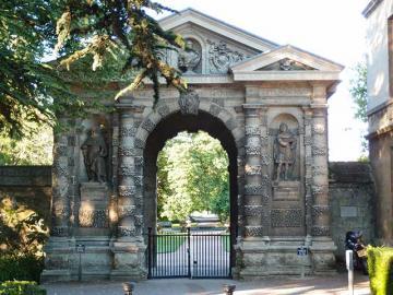 Entrance Arch, Botanic Garden