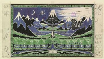 Image of Hobbit dust jacket