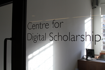 Centre for Digital Scholarship, Bodleian Library