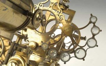 Microscope detail, Museum of the History of Sceince
