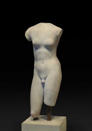 Marble Statue of Hermaphroditus