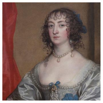 Portrait of Elizabeth Howard by Anthony Van Dyck