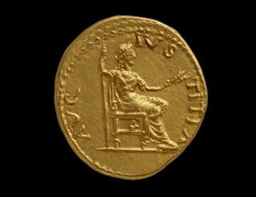 Roman coin from the Ashmolean