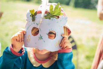 Family craft activities at Harcourt Arboretum