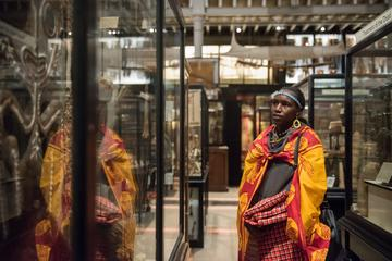 Maasai visit to the Pitt Rivers Museum November 2018 (c) Pitt Rivers Museum University of Oxford