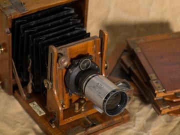 TE Lawrence's camera