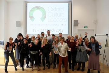 Oxford Cultural Leaders 2018 Cohort