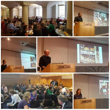 Collage of speakers from 2016 Museums Staff Conference