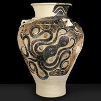 Knossos storage jar, Ashmolean Museum
