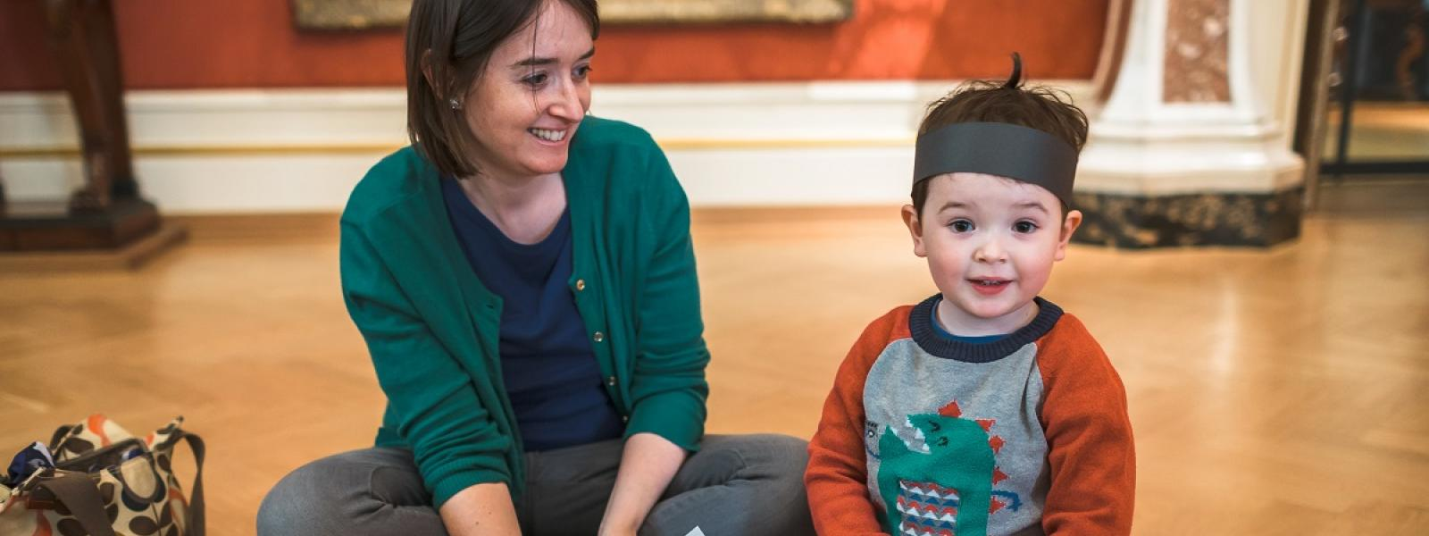 Family craft activities at the Ashmolean